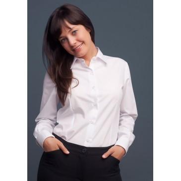 Camisa M/L popelina básica