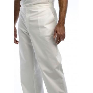 Pantalon unisex blanco