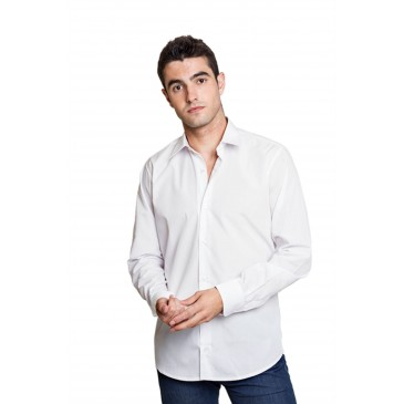 Camisa hombre semientallada