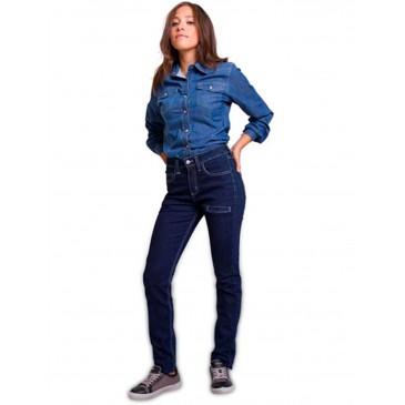 Pantalón mujer vaquero elástico