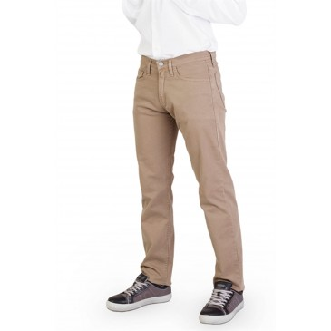 Cinco bolsillos hombre elástico