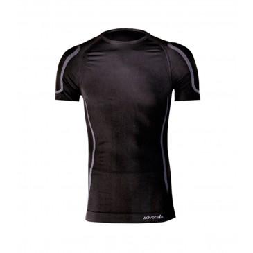 Camiseta térmica de cuello caja y manga corta