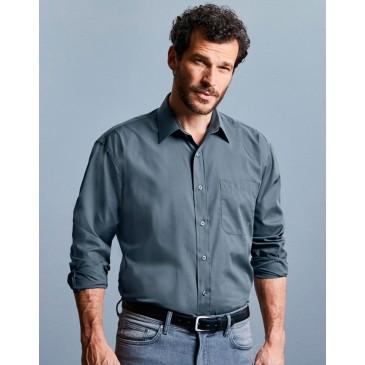 Camisa popelin manga larga