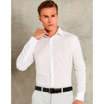 Camisa entallada manga larga