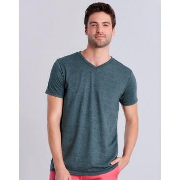 Camiseta Softstyle® cuello V hombre