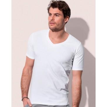 Camisa Dean Deep cuello V hombre