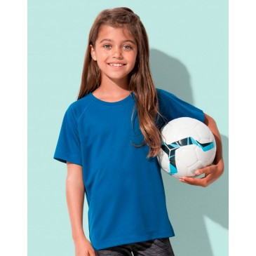 Camiseta Active 140 manga raglan niño unisex