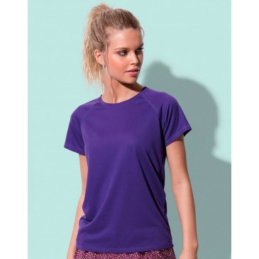 Camiseta Active 140 raglan mujer