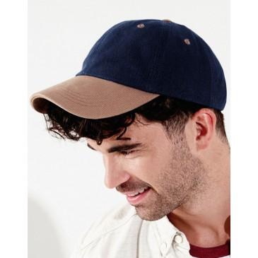 Gorra algodón peinado Heavy perfil bajo