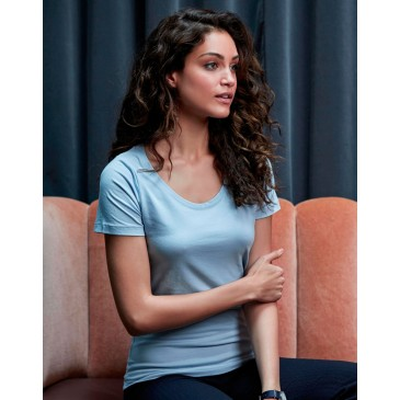 Camiseta ajustada mujer