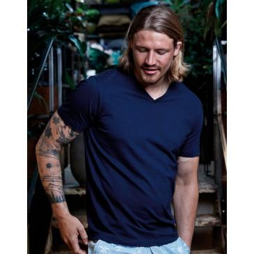 Camiseta Fashion cuello V hombre