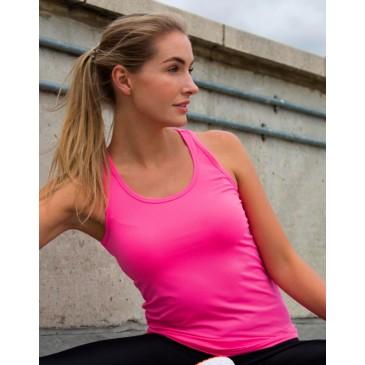 Camiseta espalda nadadora Impact Softex® mujer