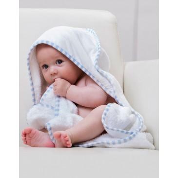 Toalla con capucha para niño Po