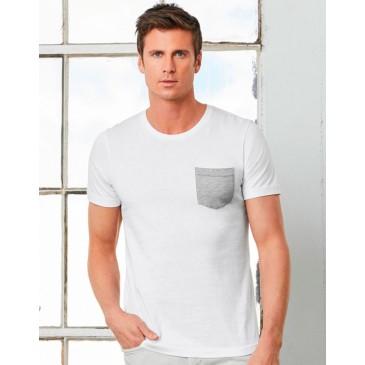 Camiseta con bolsillo hombre