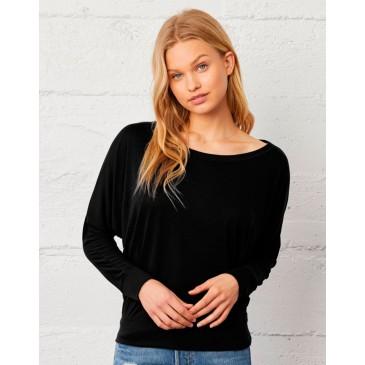 Camiseta ligera manga larga mujer