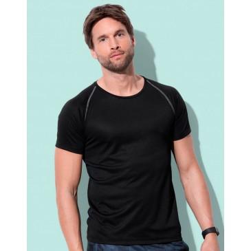 Camiseta Active 140 manga raglan hombre